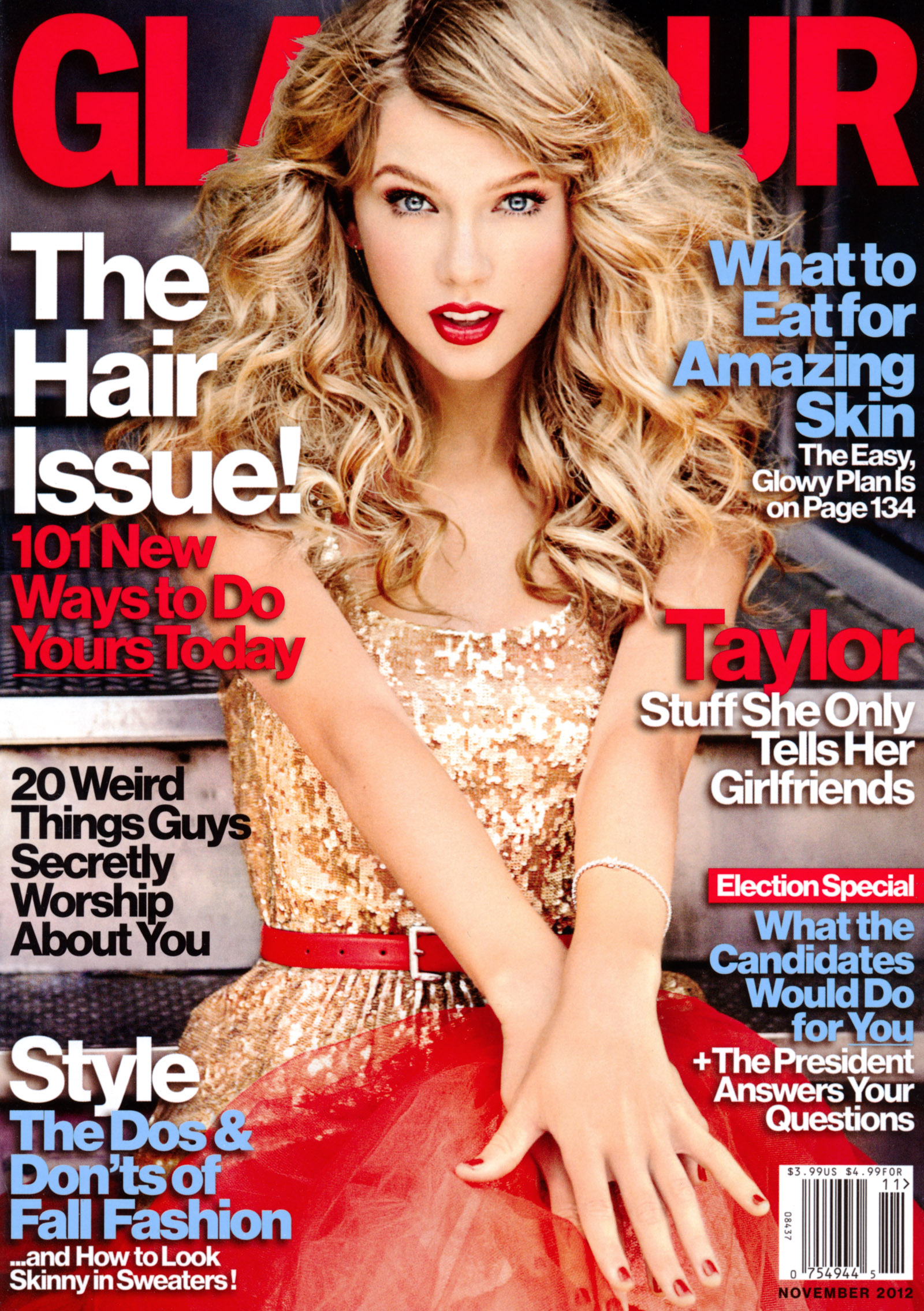 Taylor Swift In Glamour USA-02