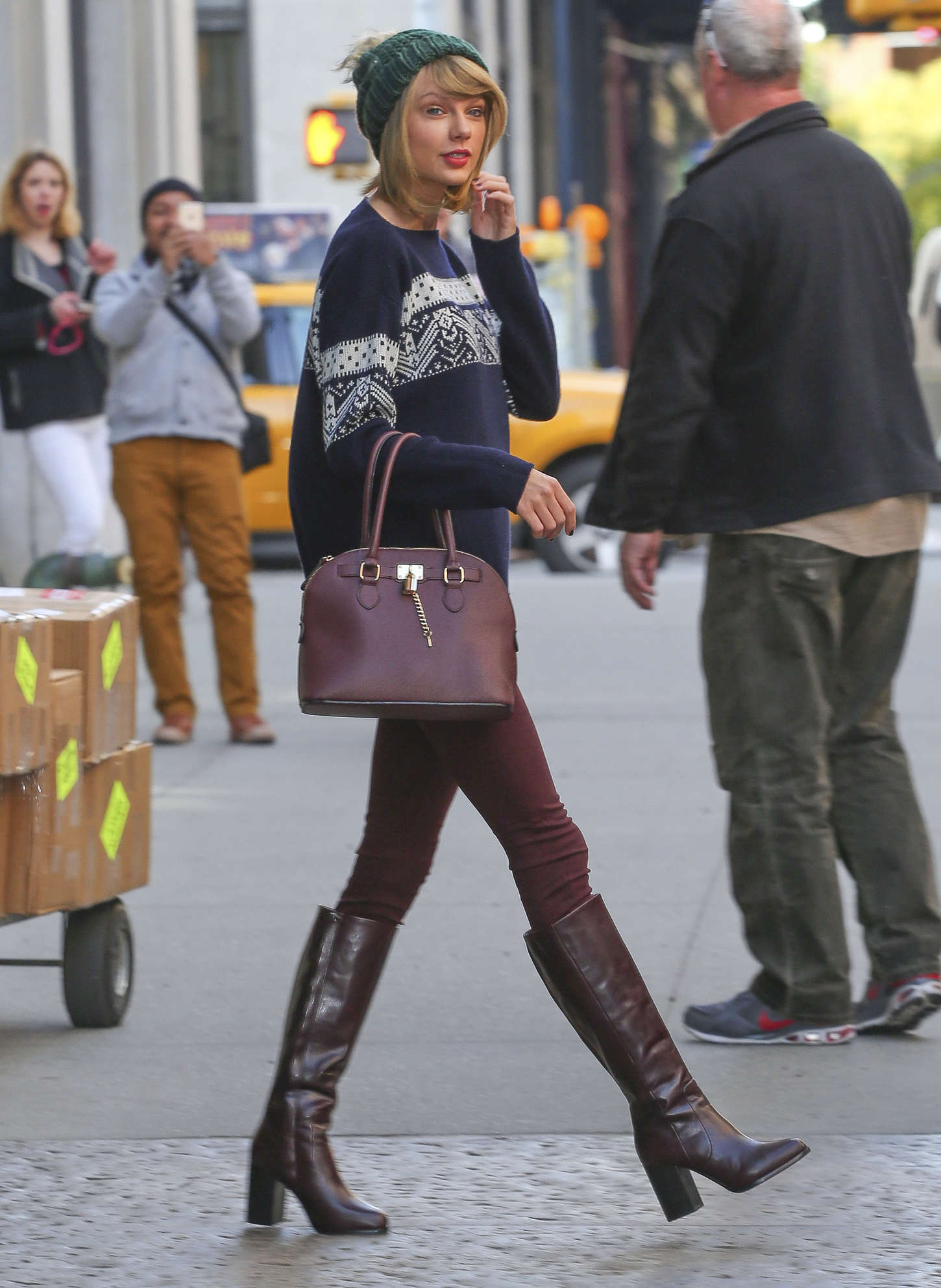 taylor swift in tight pants and boots 24 gotceleb