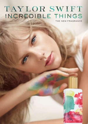"Taylor Swift - ""Incredible Things"" Fragrance Promo Pic"