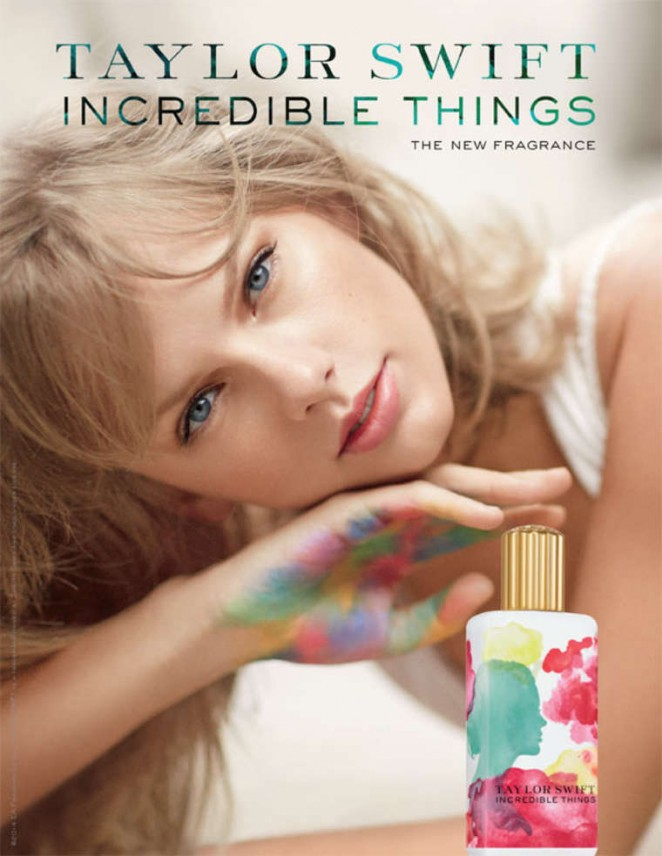 """Taylor Swift - """"Incredible Things"""" Fragrance Promo Pic"""