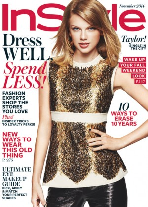 Taylor Swift - Instyle Magazine (November 2014)