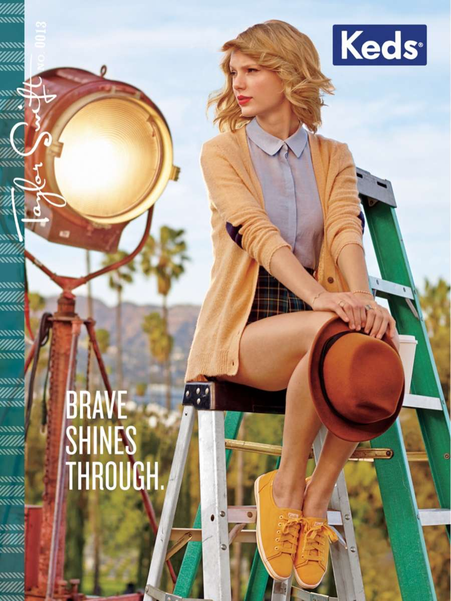 Taylor Swift 2014 : Taylor Swift: Keds 2014 Campaign -01