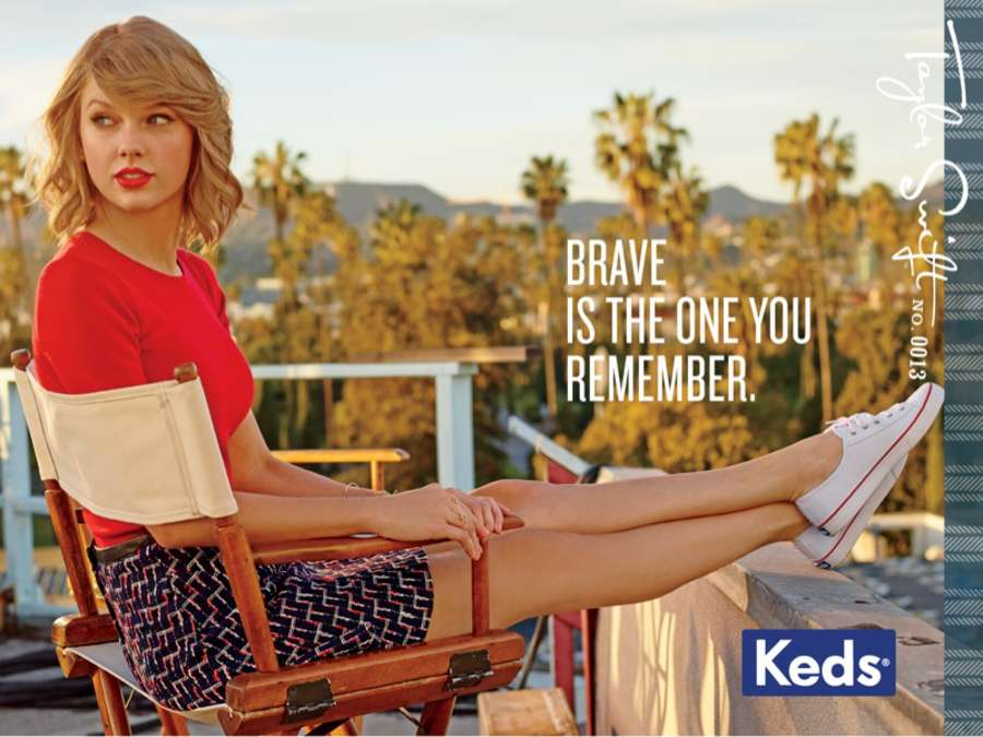 Taylor Swift 2014 : Taylor Swift: Keds 2014 Campaign -02