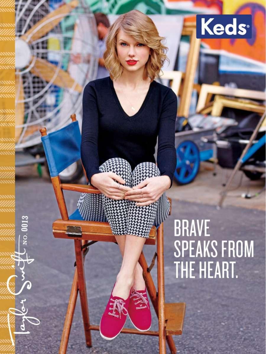 Taylor Swift Keds 2014 Campaign Gotceleb