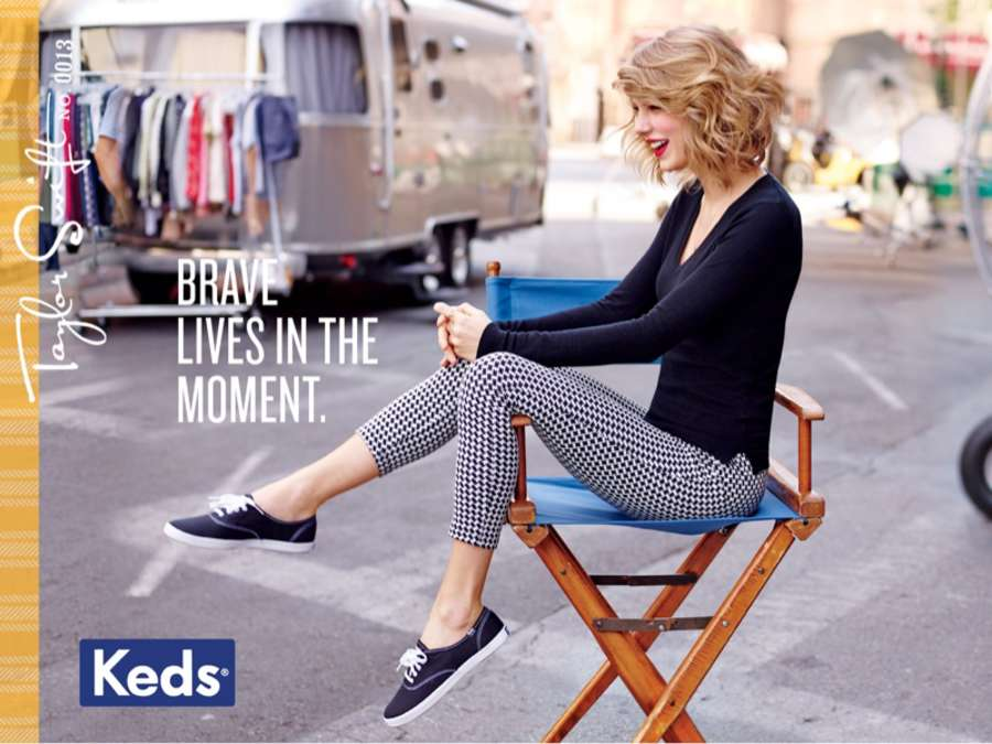 Taylor Swift 2014 : Taylor Swift: Keds 2014 Campaign -04