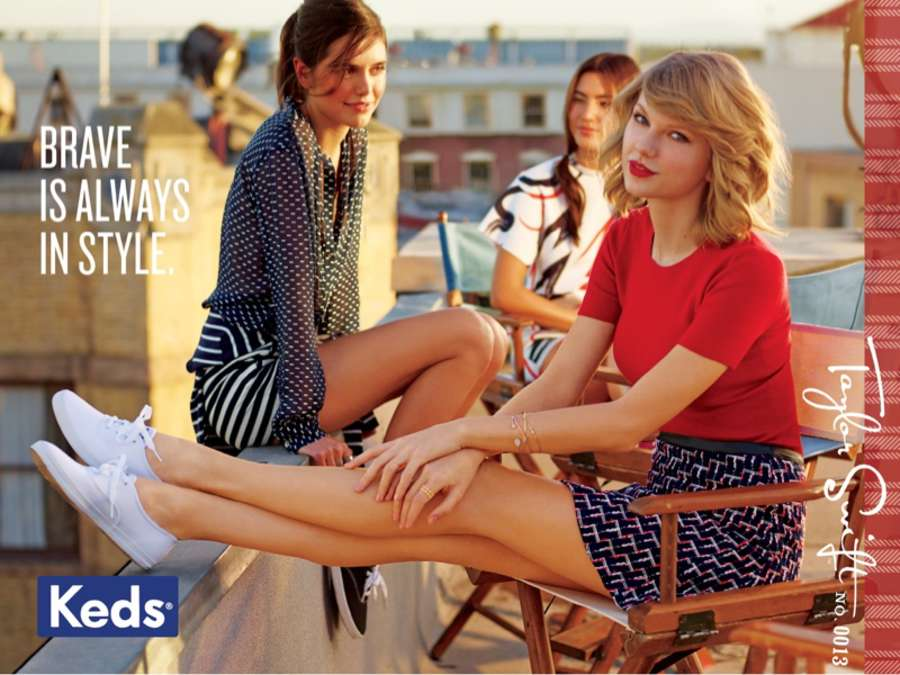 Taylor Swift 2014 : Taylor Swift: Keds 2014 Campaign -05