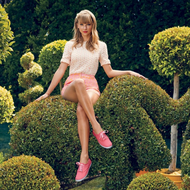 Taylor Swift: Keds Spring 2014 Campaign -05