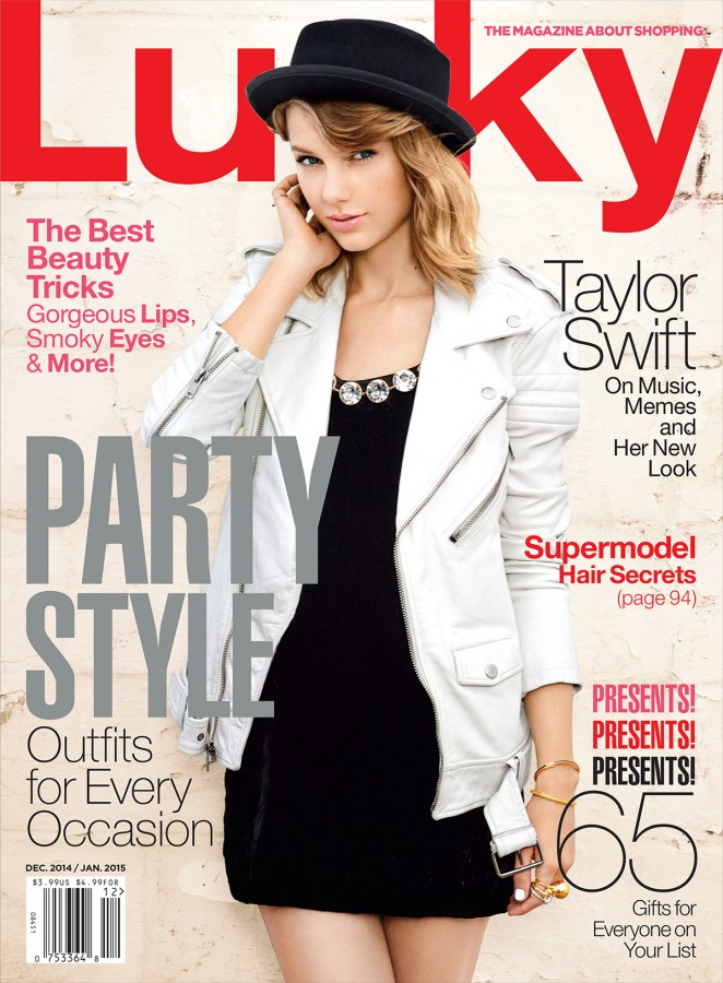Taylor Swift - Lucky Magazine Cover (Dec/Jan 2014/2015)