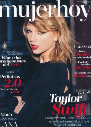 Taylor Swift - Mujerhoy Magazine (November 2014)