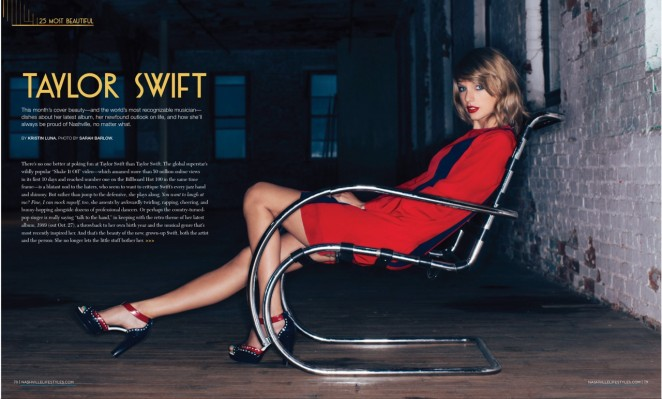 Taylor Swift - Nashville Lifestyles Magazine (October 2014)