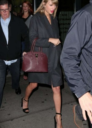 Taylor Swift - Night out in New York