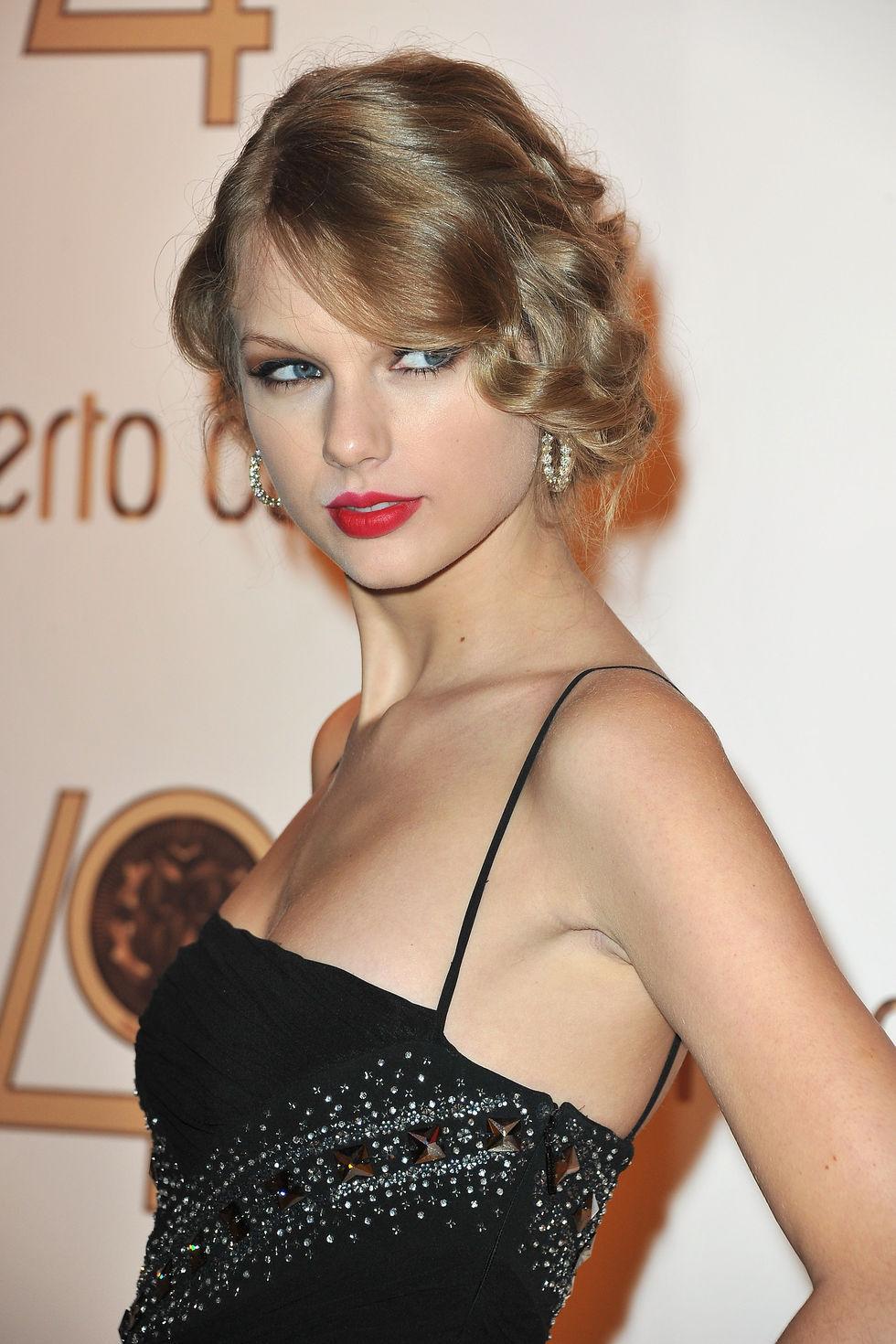 Taylor Swift Roberto Cavalli Party Paris Fashion Week Sept