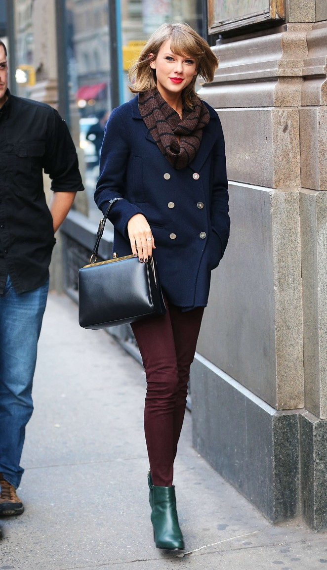 Taylor Swift Street Style – out in NYC