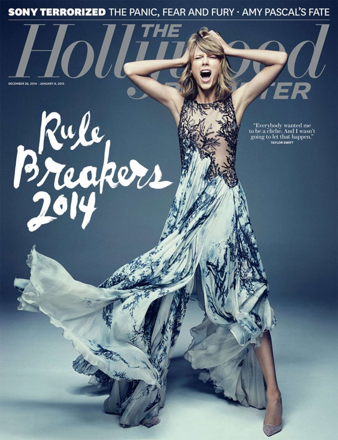 Taylor Swift - The Hollywood Reporter Cover Magazine (Dec 2014/Jan 2015)