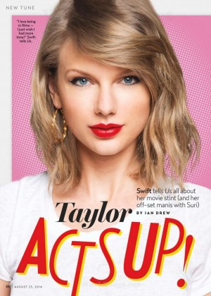 Taylor Swift - Us Weekly Magazine (August 2014)