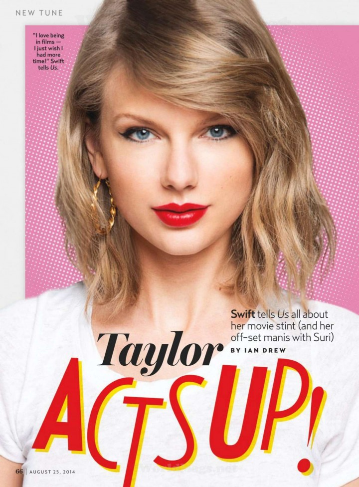 Taylor Swift – Us Weekly Magazine (August 2014)