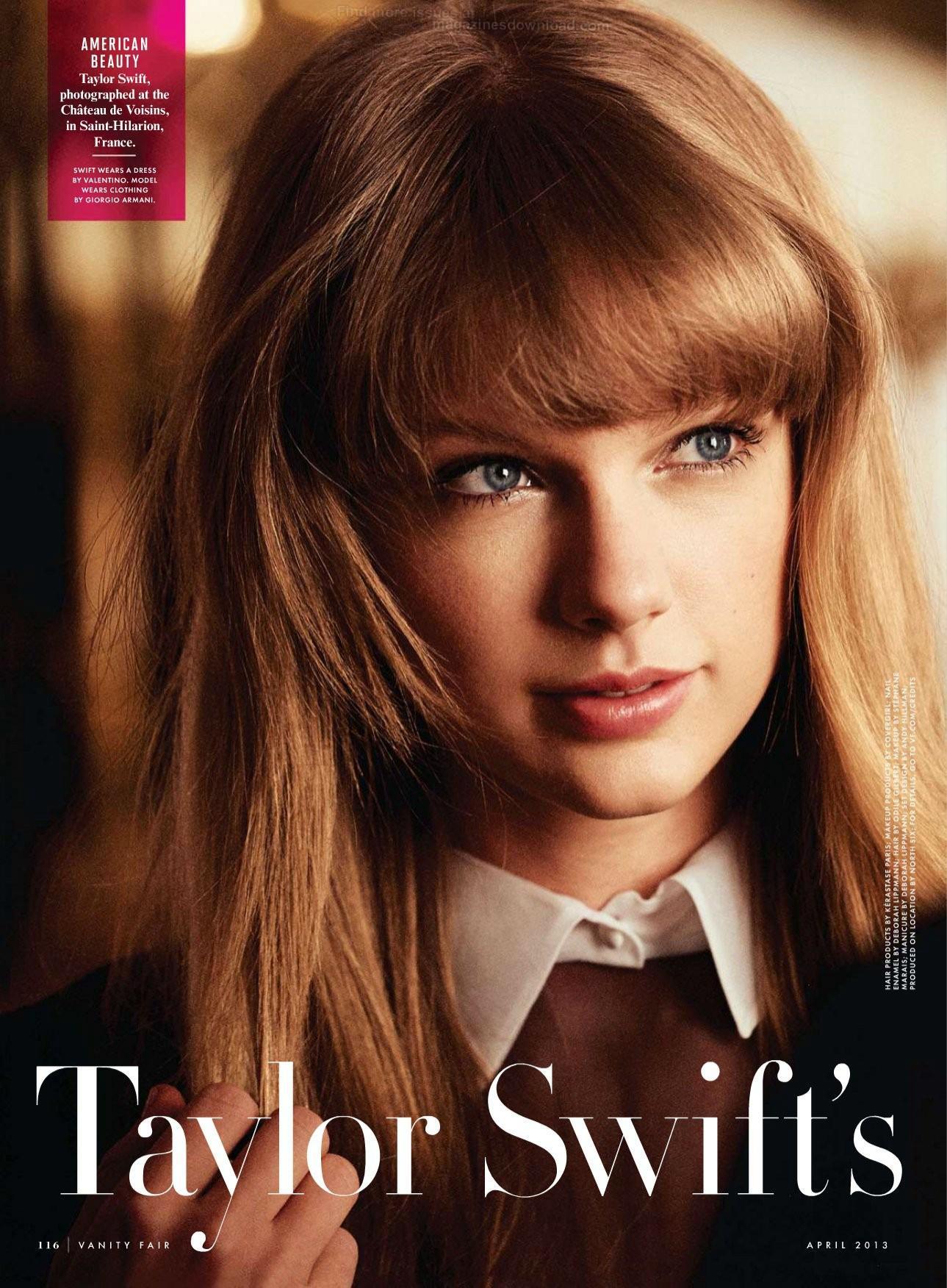 Taylor Swift – Vanity Fair 2013 -02