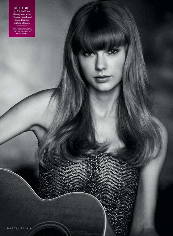 Taylor Swift Vanity Fair Photoshoot