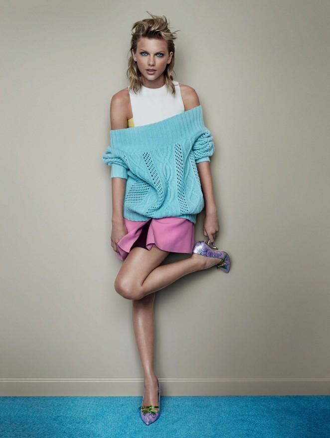 Taylor Swift - Vogue UK Magazine (November 2014)