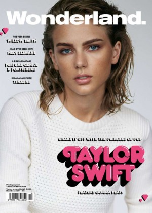 Taylor Swift - Wonderland Magazine Cover (November/December 2014)