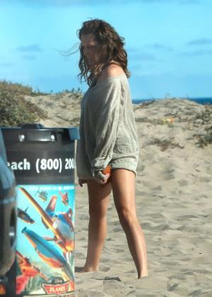 Teresa Palmer Hot Bikini: Malibu 2014 -04