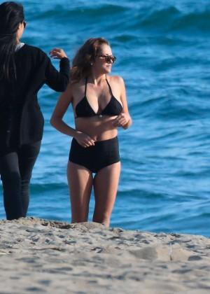 Teresa Palmer Hot Bikini: Malibu 2014 -32