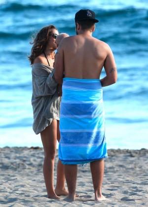 Teresa Palmer Hot Bikini: Malibu 2014 -37