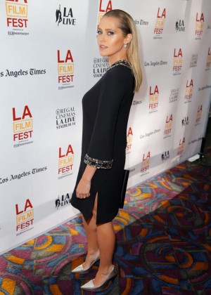 Teresa Palmer in short black dress-03