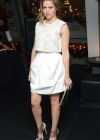 Teresa Palmer in white dress at Warm Bodies screening after party in New York 01/25/13