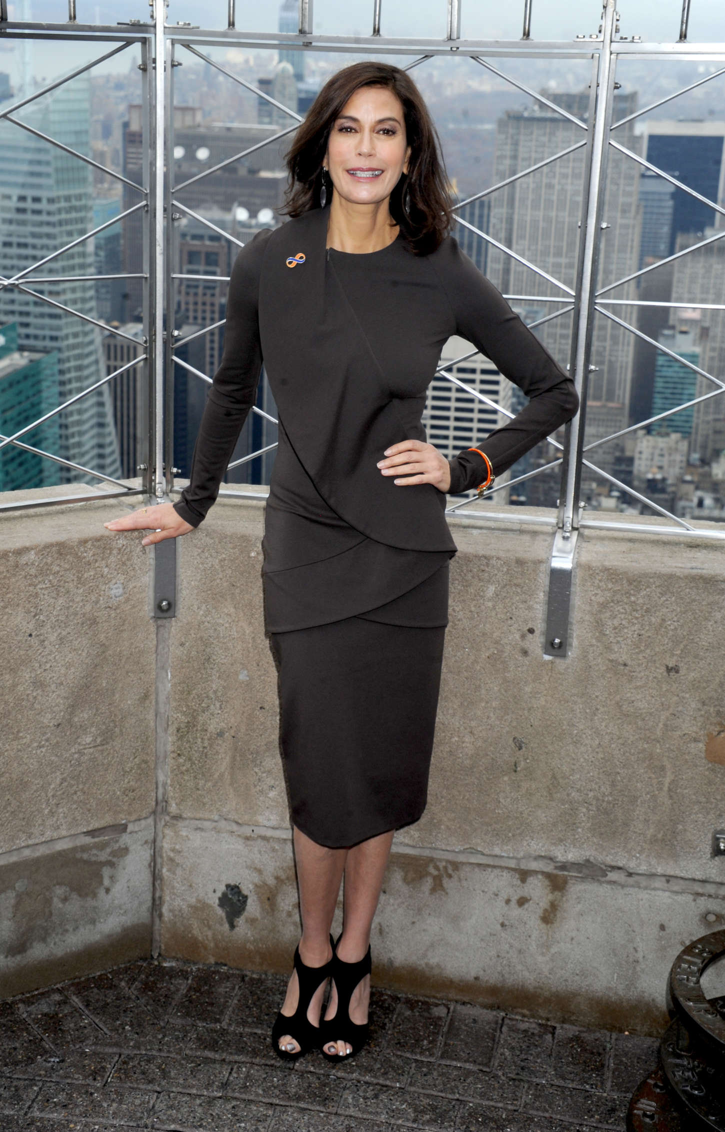 Teri Hatcher Lights The Empire State Building In New