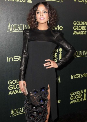 Tessa Thompson - HFPA & InStyle Celebrate 2015 Golden Globe Award Season in West Hollywood