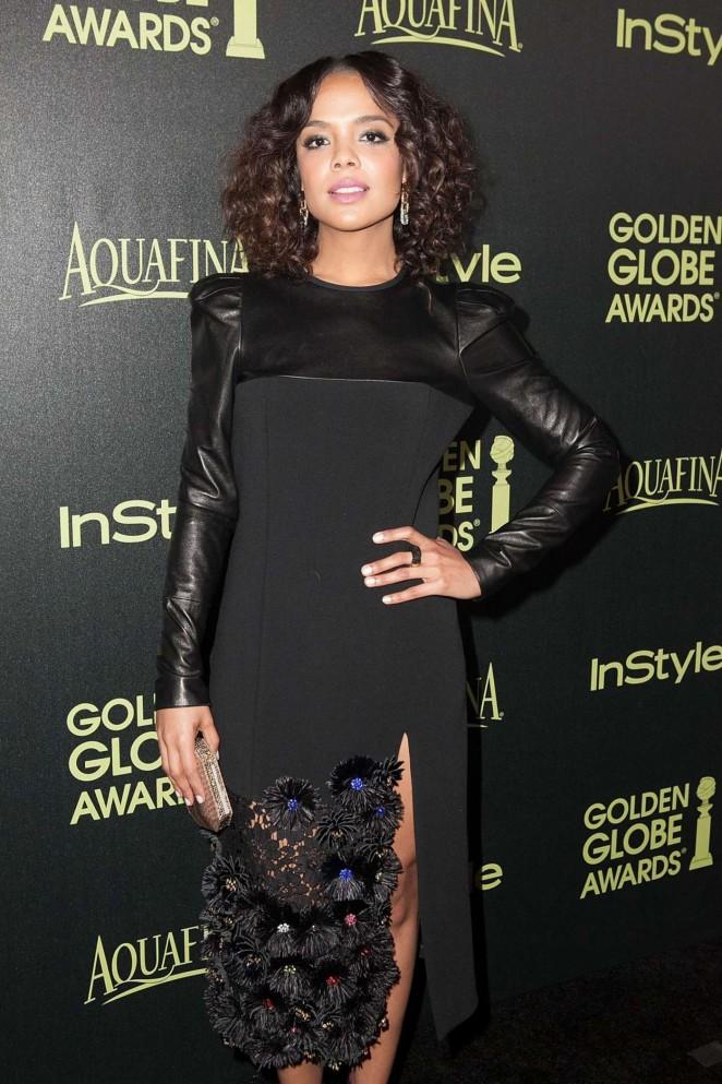 Tessa Thompson - HFPA & InStyle Celebrate 2015 Golden Globe Award Season in West Hollywood