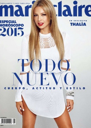 Thalia - Marie Claire Mexico Magazine (January 2015)