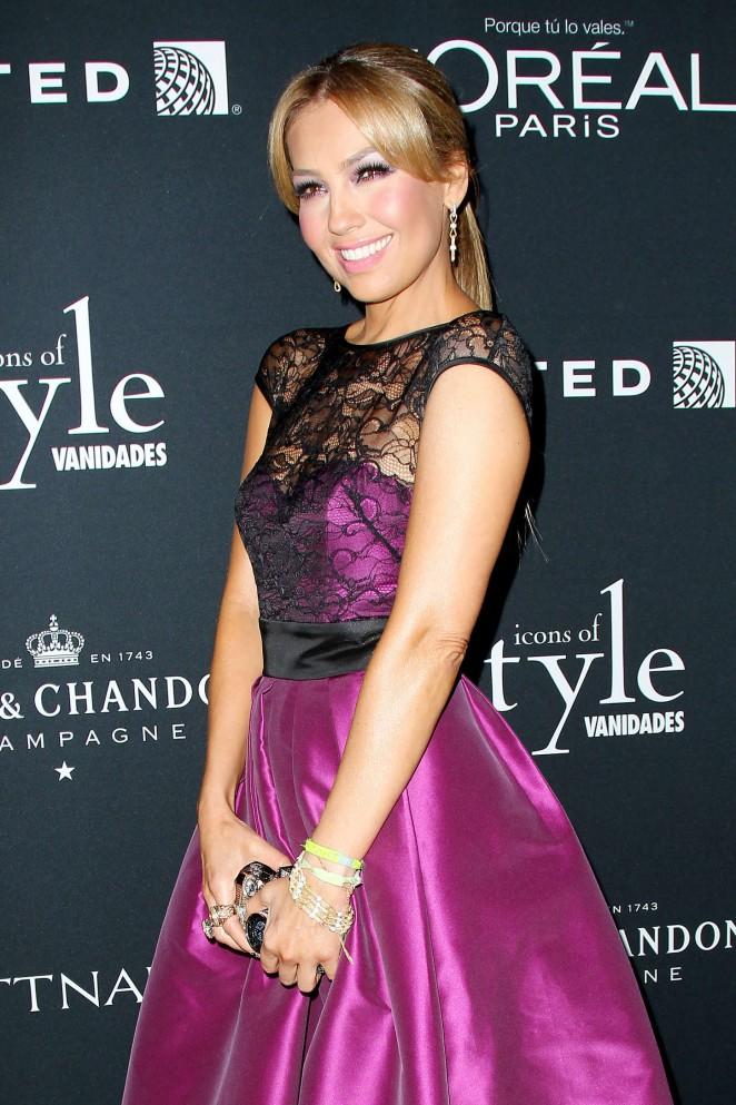 Thalia – Vanidades Hosts Icons Of Style Gala 2014 in NY