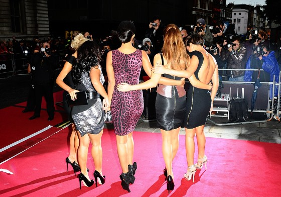 The Saturdays – 2011 GQ Men Of The Year Awards