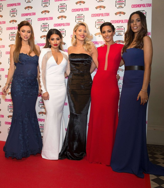 The Saturdays – 2014 Cosmopolitan Ultimate Women Awards in London