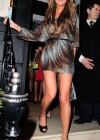 The Saturdays showing legs at Nozomi Restaurant -27