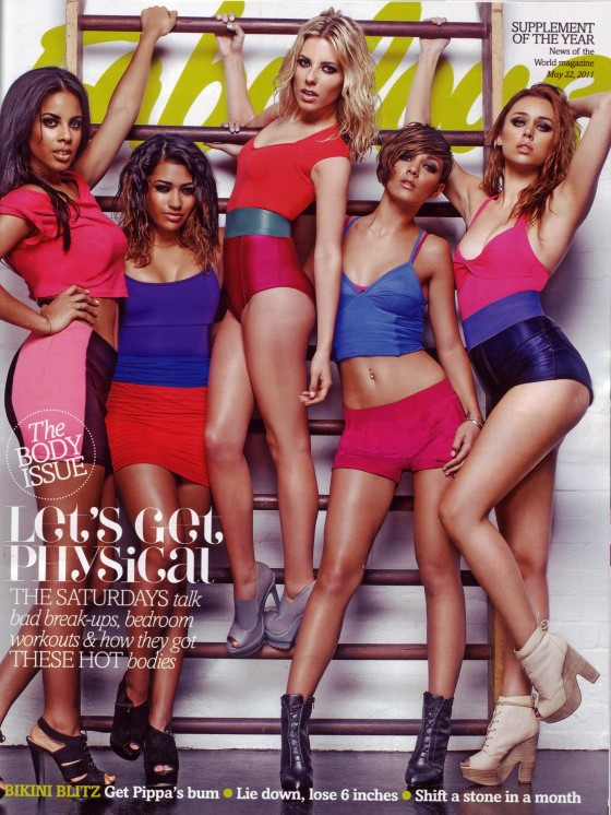 The Saturdays – Fabulous Magazine (May 2011)