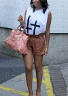 The Saturdays - Leggy Candids in London - June 27-22