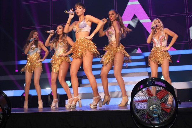 The Saturdays – Performs Live at The Brighton Centre