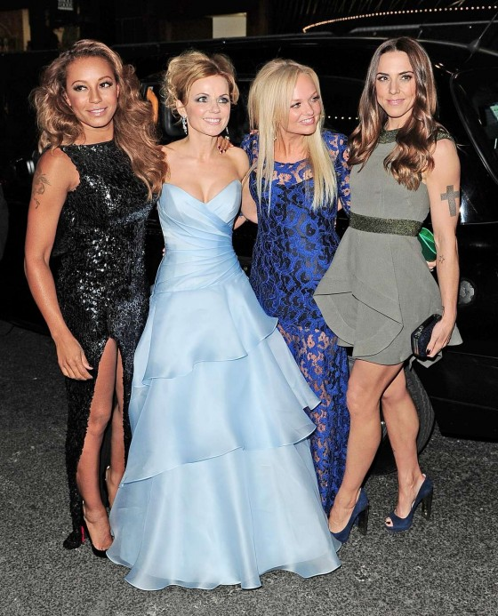 The Spice Girls - Viva Forever!'s press night at the Piccadilly Theater
