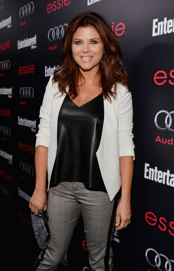 Tiffani Thiessen: Entertainment Weekly Pre-SAG Party
