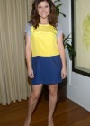Tiffani Thiessen in short skirt at Studio Photoshoot -05