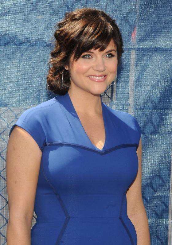 Tiffani Thiessen - USA Network 2013 Upfront in NYC -08