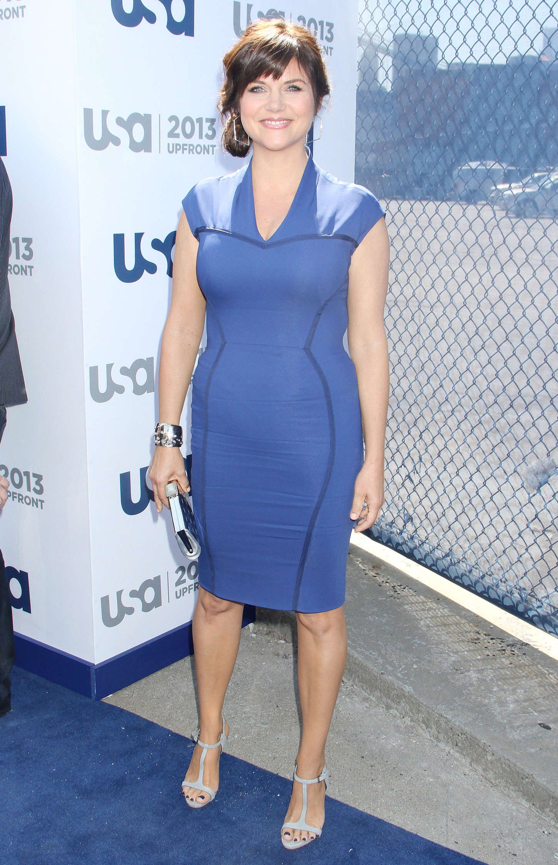 Tiffani Thiessen 2013 : Tiffani Thiessen – USA Network 2013 Upfront in NYC -11