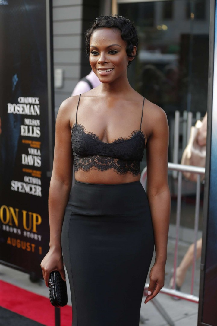 "Tika Sumpter - ""Get On Up"" Premiere in New York"