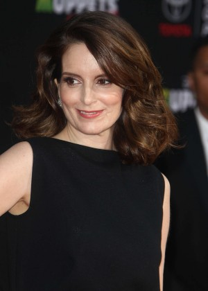 Tina Fey: Muppets Most Wanted Premiere -02