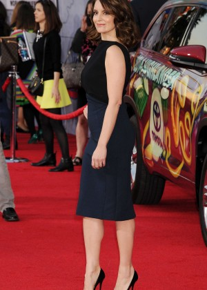 Tina Fey: Muppets Most Wanted Premiere -03