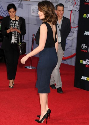 Tina Fey: Muppets Most Wanted Premiere -04