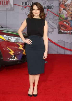 Tina Fey: Muppets Most Wanted Premiere -12